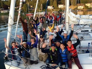 Seattle Sailing Club members