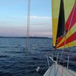 Boat Bow Rainier Spinnaker