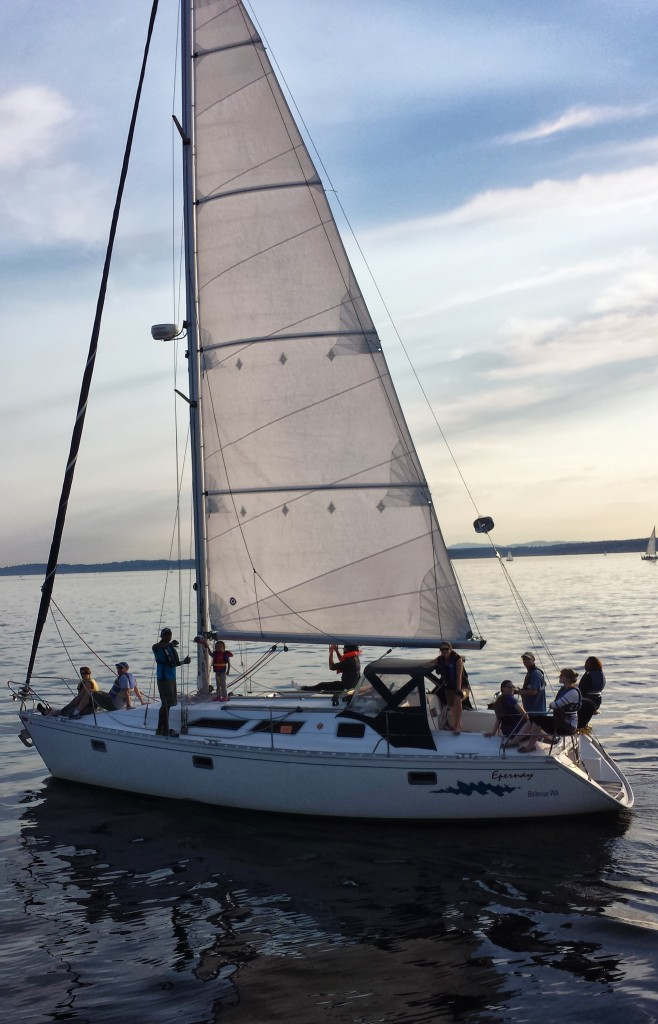 American Sailing Association sailboat