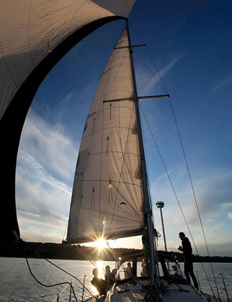 Advanced Coastal Cruising sailboat