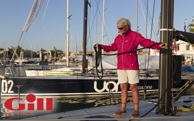 Gill Sailing Gear advertisement