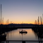 Shilshole Bay Marina sunset
