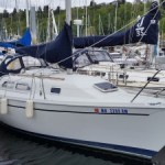 Sailboat - Ericson 26 - Leif. A fantastic pocket cruiser for the Pacific Northwest.
