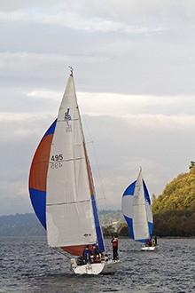 Seattle Team Building - Race Event - J-105 Spinnakers